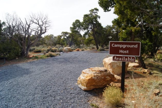 Campground Host Site at Desert View Campground