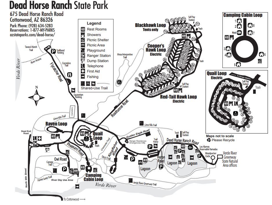 Dead Horse State Park Map