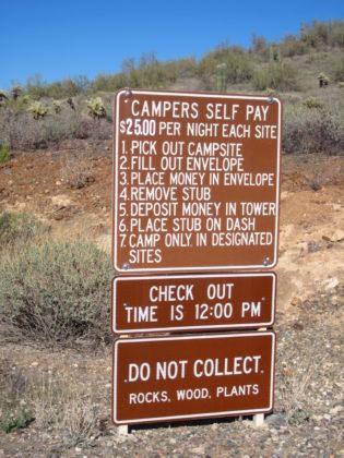 Cave Creek Regional Park info