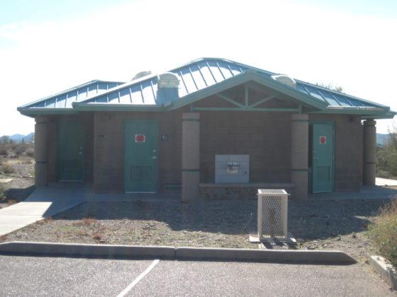 Cave Creek Regional Park Restrooms