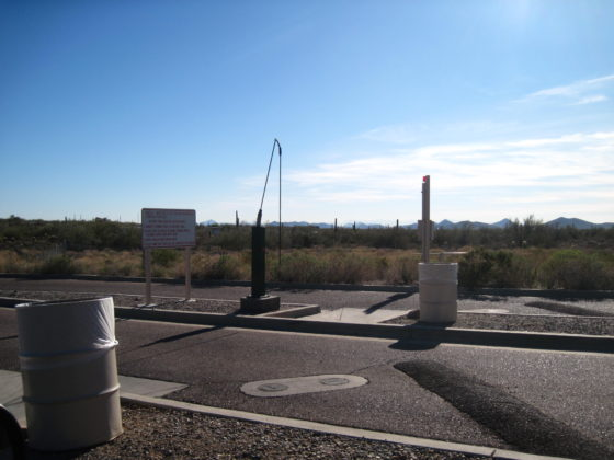 Cave Creek Regional Park RV Dump Station