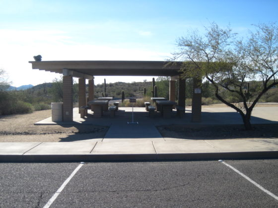 Cave Creek Regional Park group area