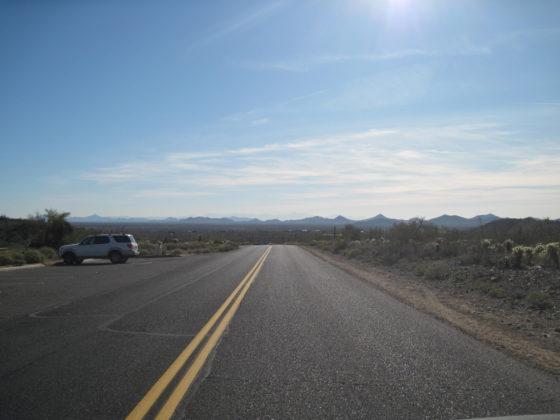 Looking South back towards Phoenix