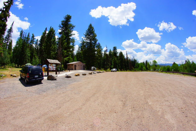 Brookchar Campground Parking Area