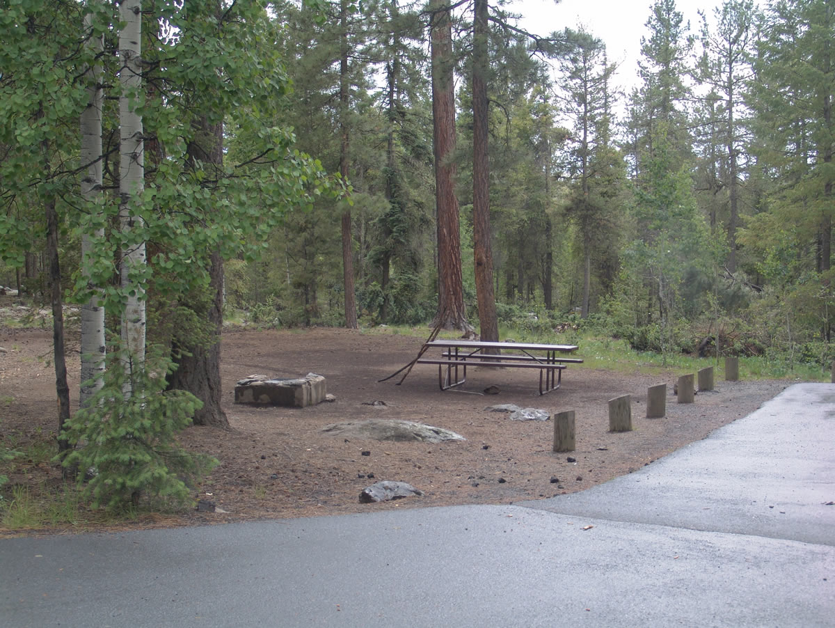 Grayling Campground - Big Lake - White Mountains - Camp ...