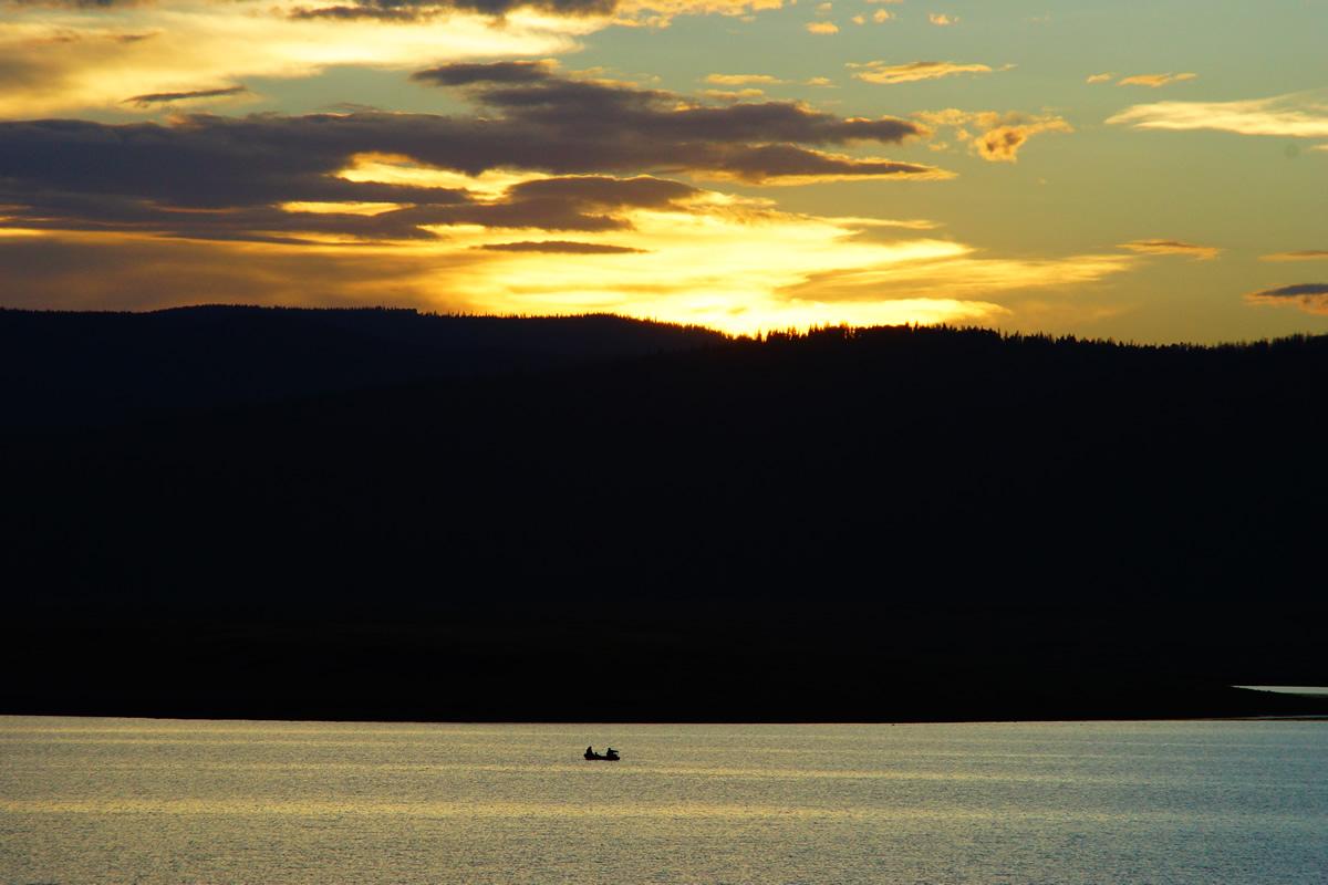 Big Lake at Sunset