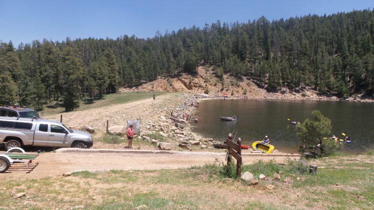 Knoll Lake Boat Ramp