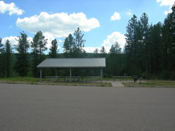 Sharp Creek Campground Group Ramada