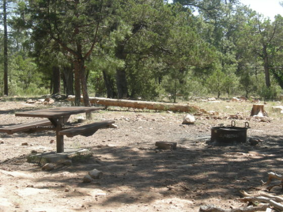 Chevelon Canyon Lake Campground