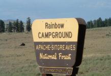 Rainbow Campground at Big Lake