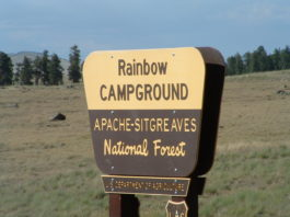 Rainbow Campground at Big Lake