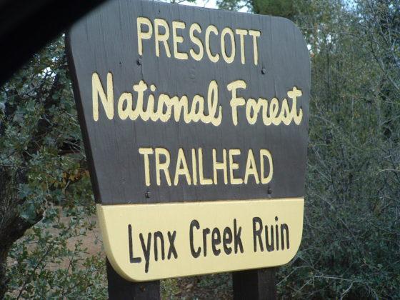 Lynx Creek Ruin Trailhead