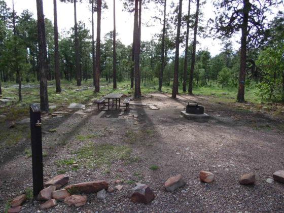 Mogollon Campground - Campsite #14