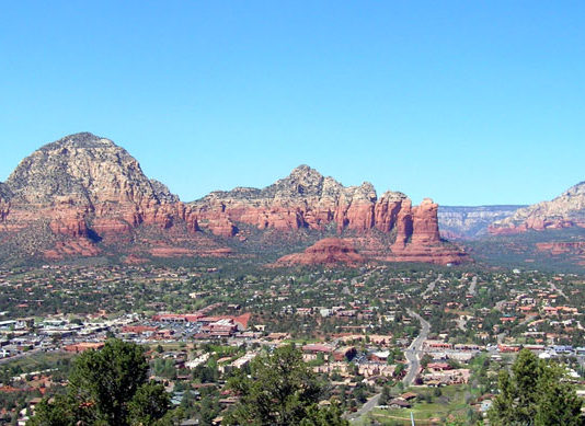 Sedona Airport Loop Trail View